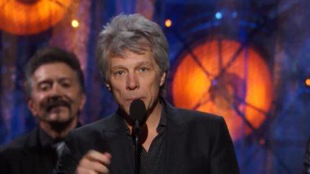 Bon Jovi入主摇滚名人堂