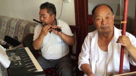 武汉市新洲区潘塘老年大学乐队采茶舞曲