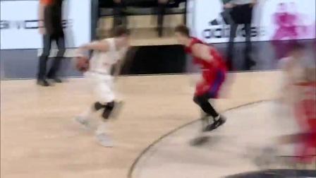 欧洲篮球冠军联赛半决赛 卢卡·东契奇集锦