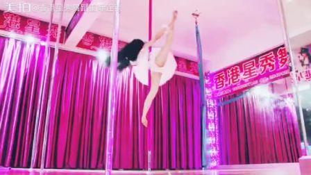 香港星秀天鹅地面旋转高空钢管舞技巧视频   1