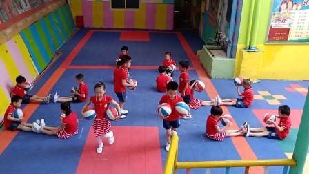 郴州市飞翔幼儿园希沃·2018华蒙星全国幼儿篮球操视频大赛