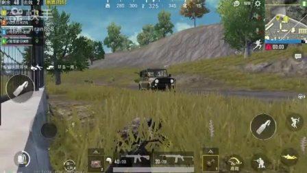 军事基地,捡到枪守住车#官方 #热门 #游戏 #吃鸡