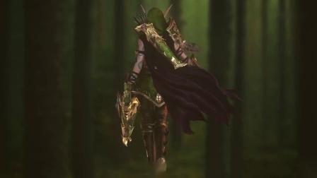 游侠网 国外大神制作《魔兽世界》3D实时渲染 奥蕾莉亚风行者