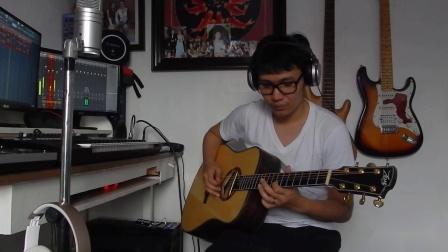 菲律宾音乐人MJ Canlas演示JUSTPRO变色龙拾音器