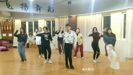 慈溪专业钢管舞爵士舞晚课实录
