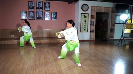 传统杨氏太极拳30表演套路