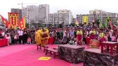07、中山市国际南南仙龙狮体育会—鲤鱼跃龙门
