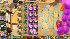 植物大战僵尸2:邪恶南瓜和疯狂茄子vs埃及僵尸