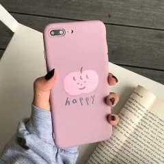 夏日粉嫩HAPPY水蜜桃VIVOY93手机壳Y91全包Y85a硅胶