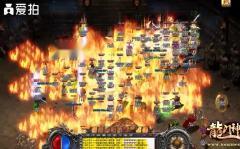 神途:龙门神途夺宝玩家激战,玩家多的数不过来!