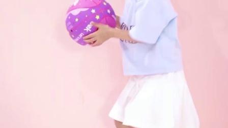 君晓天云uek皮球儿童篮球男女足球幼儿园专用3-12岁跳跳球3号球玩具拍拍球