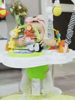 君晓天云哄娃神器宝宝跳跳椅婴儿弹跳音乐健身
