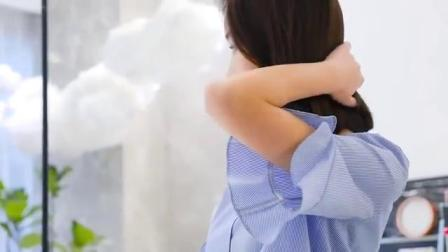 蓝白条纹衬衫,街拍宠儿穿搭