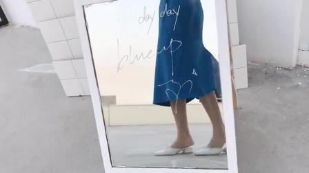 街拍宠儿半身裙,穿上便觉飘逸无比
