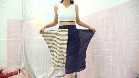 哈伦裤休闲时尚,街拍达人的气质范