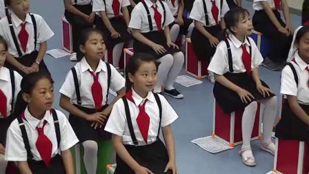 人教版小学音乐六年级上册唱歌《美丽的夏牧场》教学课堂实录视频,宁 夏