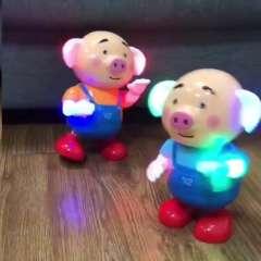 #幼儿童机器人玩具1男孩子益智力4至5音乐女孩周