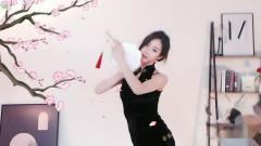 【美女热舞】YY主播漫漫-中国古风舞-玉生烟~黑短
