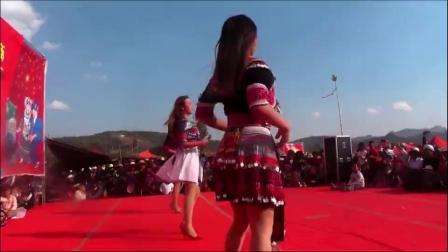 精彩!苗族美女2019密纳苗族花山节现身