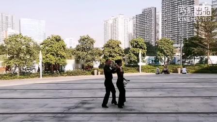 鸿之舞A4《我爱你中国》第八节音乐演示,王雄老