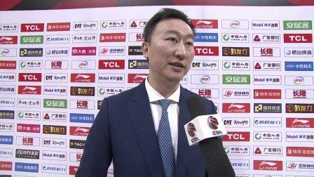 赛后采访-浙江主教练刘维伟:大家很努力状态不