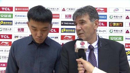 赛后采访-江苏主帅贝西诺维奇:失败的原因主要