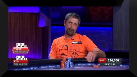 德州扑克:天选夺冠,美女这么多补牌都发不出