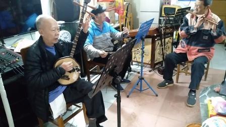 广东音乐《娱乐升平》港伯梅花琴,广州张老师