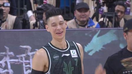 林书豪VS赵睿:双方先是展开三分大赛,随后又是扣篮大赛