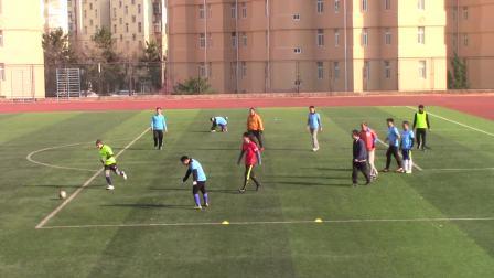 青岛大学教工足球队2020年1月14日周二中午活动
