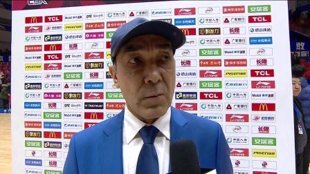 赛后采访-阿的江:球员很好地贯彻了战术,漂亮的一场胜利