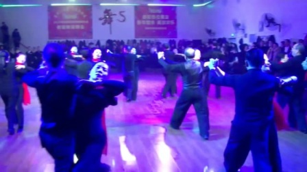 标准舞铜牌双人华尔兹 2020年邵阳市体育舞蹈协会新年联谊舞会 君健影视申健全摄制