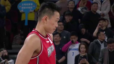 北京VS深圳第二节:林书豪打进回归首球
