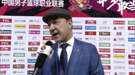 教练采访-阿的江:单外援出战影响较大,球队丢了太多前场篮板