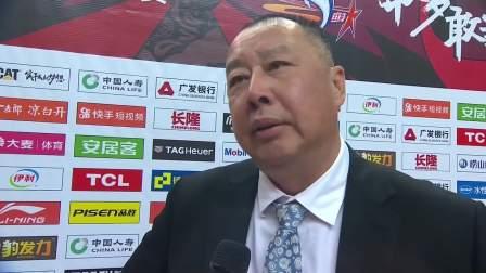 教练采访-青岛主教练吴庆龙:本场没有犯上次的错很感慨