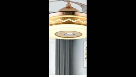 音乐播放器吊扇灯