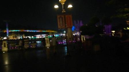 南宁方特东盟神画音乐喷泉(2)(声音太吵听不见)