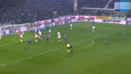 意甲 亚特兰大2-1罗马 罗马本场状态不佳 出现多