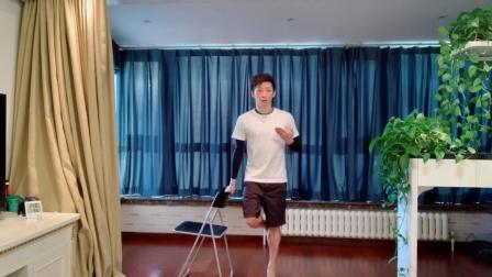 腿部肌肉拉伸训练