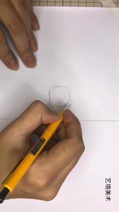 艺境美术第1课-1,卡通动漫手帐