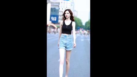 街拍小姐姐系列-01