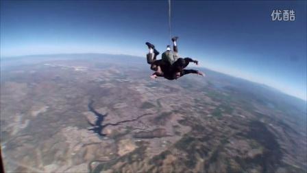 马泰 跳伞 太好耍了