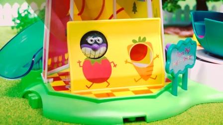 小公主苏菲亚 皇家四轮马车 拜访小猪佩奇城堡 趣盒子定格动画