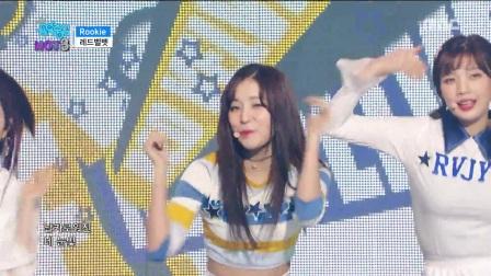 【风车·韩语】Red Velvet《Rookie》音乐中心0218现场版