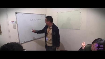 【菲英游学】MONOL TEACHER JOSSEN 雅思口语课堂