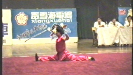 1995年全国武术套路锦标赛 女子传统项目 三类拳 011 地趟拳 侯冬媚(天津)