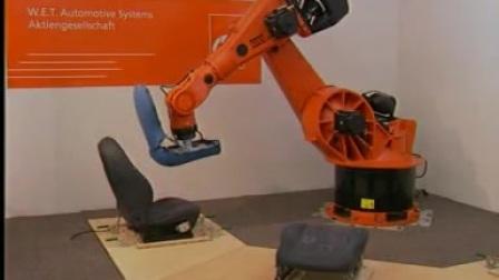 使用KUKA机器人 可变性测试汽车座椅加热器