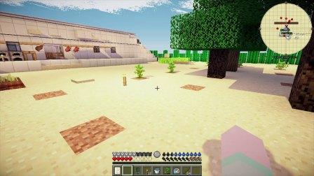 【大橙子】荒漠求生日记#7冶炼矿物[我的世界Minecraft]