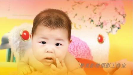 【高清】可爱宝宝180天写真电子相册