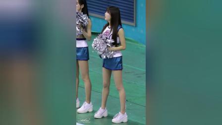 180129 韩国职业篮球联赛 啦啦队美女 안지현 加油